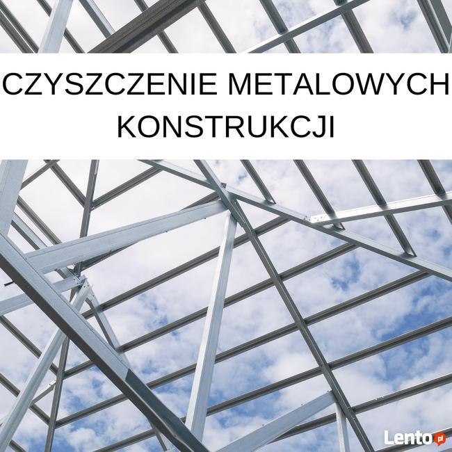Czyszczenie metalowych konstrukcji- szybko i skutecznie.