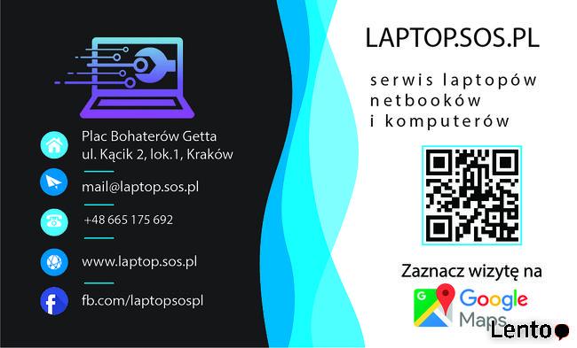 Serwis laptopów od ręki w Kraków. Zniżki KDR oraz KK