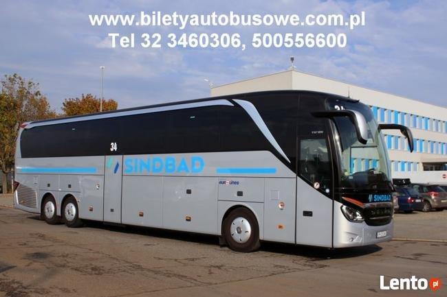 Przejazd Katowice - Cambridge, Sindbad tel. 500556600
