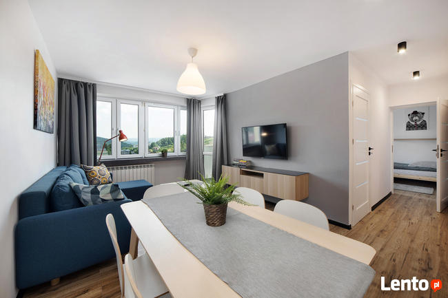 Apartament Ale Widok- max 6 osób, 3 pokoje, 4 łóżka, centrum