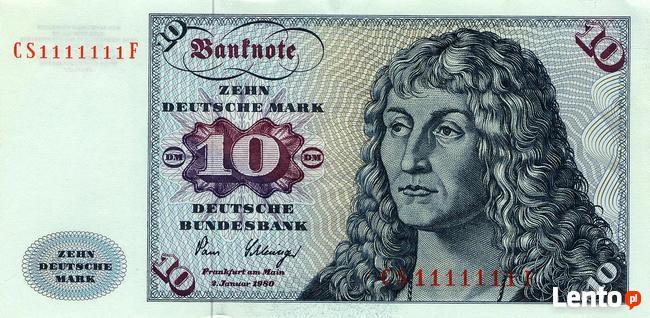 Kupię marki niemieckie RFN lub BRD banknoty oraz bilon