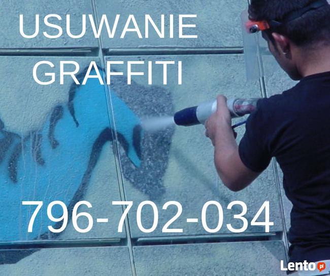 Usuwanie graffiti- szybko i skutecznie.