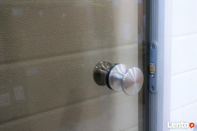 Drzwi szklane do łaźni parowej brązowe przezroczyste
