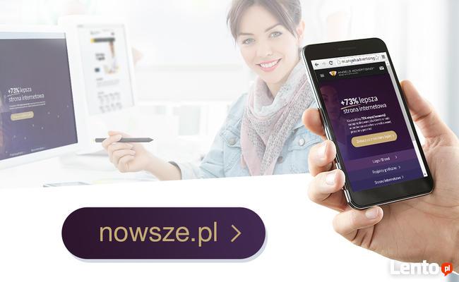Zamów mobilną stronę internetową na telefony! | Responsywną