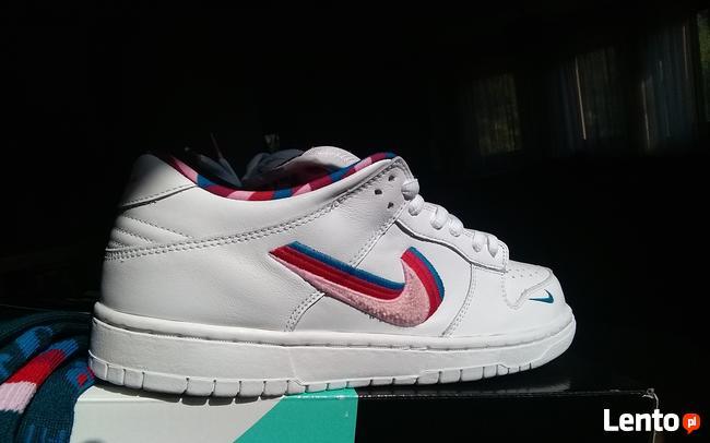 NOWOŚĆ Nike SB DUNK LOW x Parra z 27.07.2019 r. CN4504 100