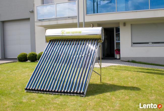 Kolektor słoneczny ciśnieniowy HEAT-PIPE 150l, nierdzewny