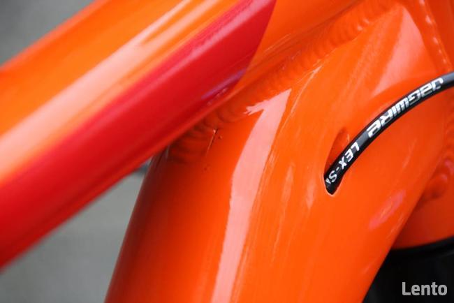 Rama rowerowa - spawanie (stal, aluminium, tytan)