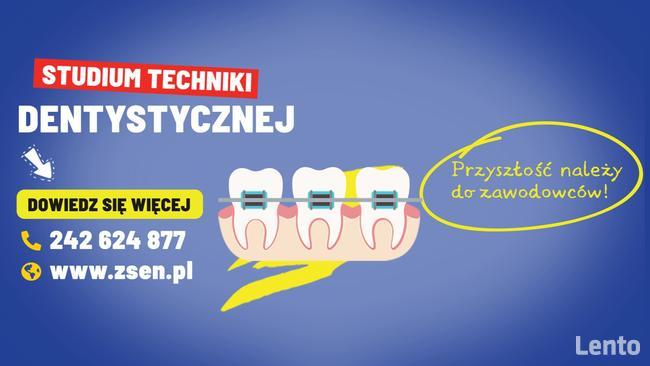 Nabór do Studium Techniki Dentystycznej. Nauka zdalna!