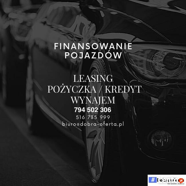 Finansowanie pojazdów : pożyczki , leasing , wynajem-bez baz