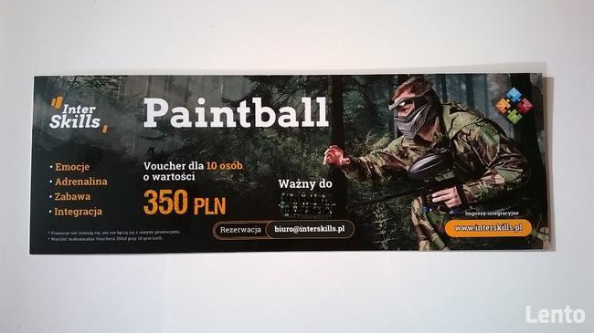 Paintball voucher dla 10 osób 3h ze wszystkim do 31.12.2021