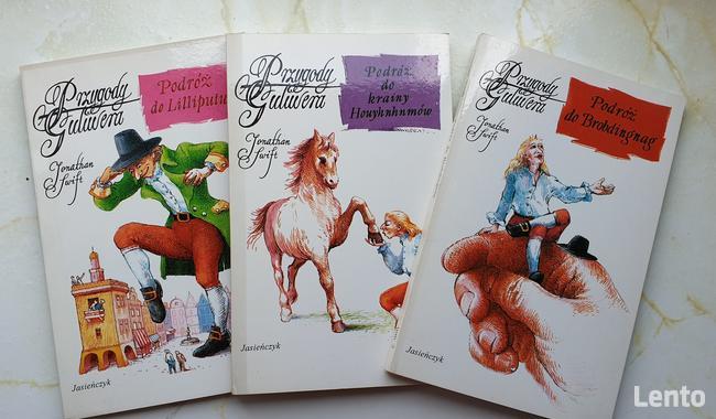 Przygody Guliwera ( 3 książki)