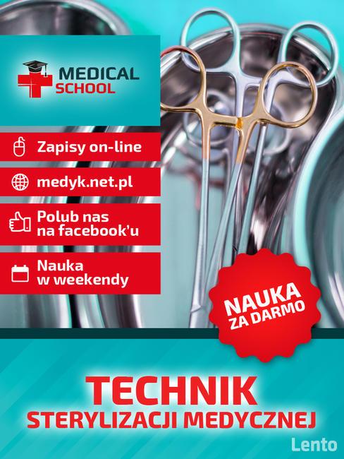 technik sterylizacji medycznej w Medical School w Mielcu