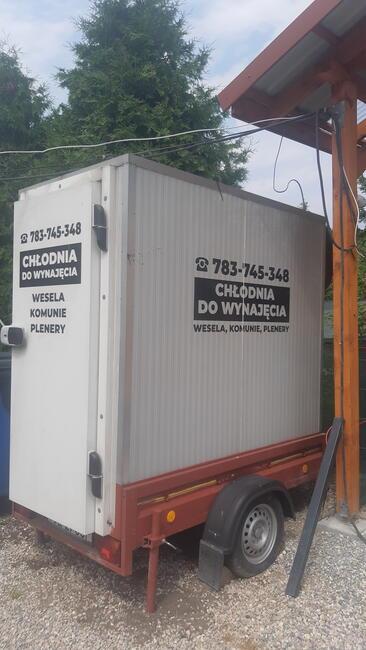 Chłodnia mobilna lodowka zamrażarka wesele komunia poprawiny