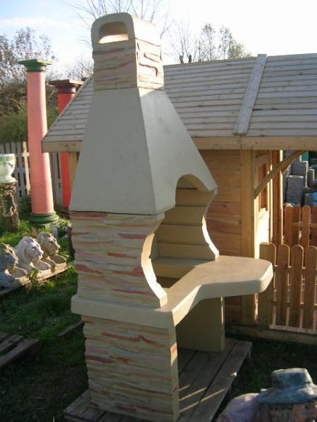 Kominek Ogrodowy Grill betonowy ozdoba ogrodowa