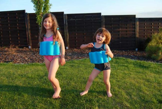 Kostiumy kąpielowe dla dzieci do nauki pływania