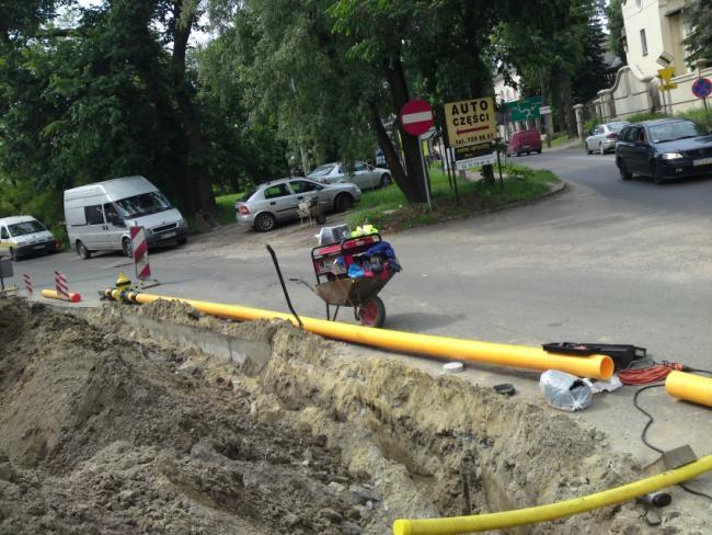 przyłącza instalacje wod/kan i gaz, drenaże-odwodnienia,