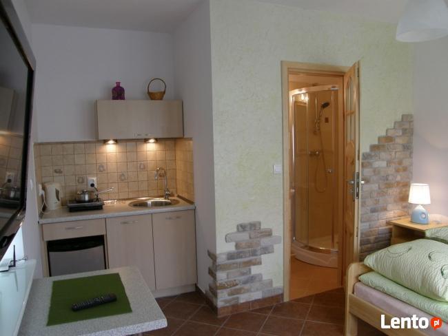 Komfortowe miniapartamenty z łazienkami i aneksami kuchenny