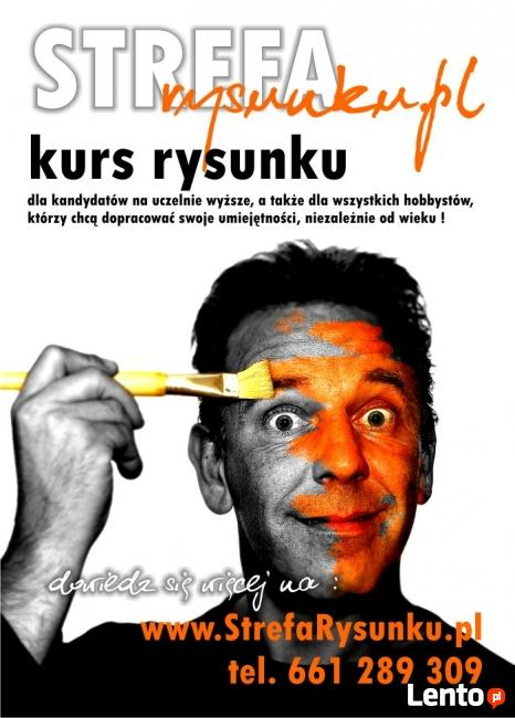 Kurs rysunku - Łódź. Architektura - Grafika - Malarstwo.