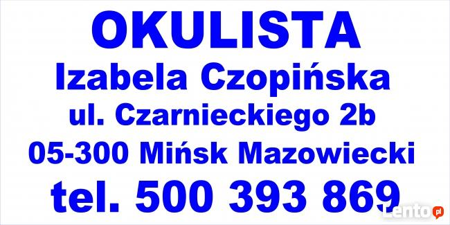Izabela Czopińska - OKULISTA