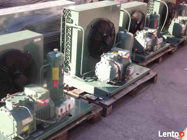Najnowsze Kompleksowe uzbrajanie chłodni agregat chłodniczy parownik Ciechanów DH76