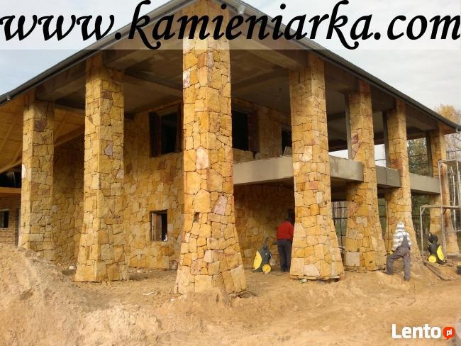 ogrodzenia z kamienia, elewacja z piaskowca,kamieniarstwo