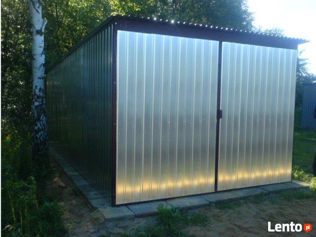 Garaż Blaszany 3x6