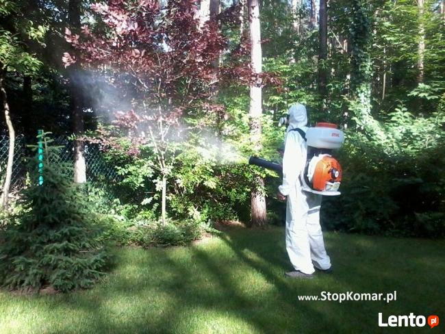 Skuteczne zwalczanie komarów poprzez oprysk terenu