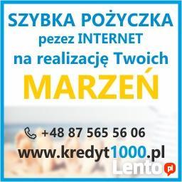 Chwilówka, pożyczka online Sosnowiec.