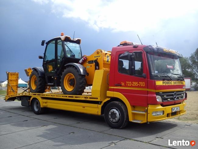 Nr tel.722295703 Transport maszyn,pomoc drogowa,holowanie,au