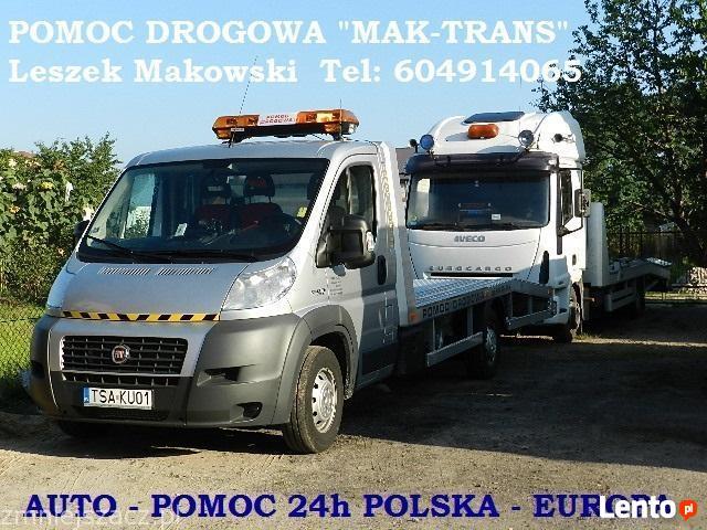 AUTO POMOC - POMOC DROGOWA Sandomierz MAK-TRANS