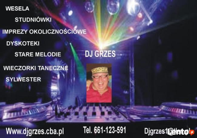 DJ NA WESELE - SYLWESTER I INNE OKOLICZNOSCI