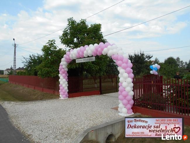 Najnowsze Brama weselna Mielec CD45