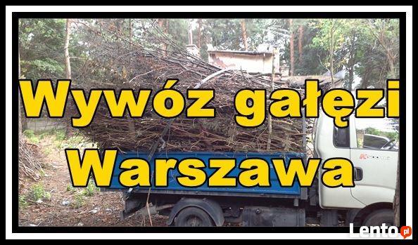 Wywóz gałęzi Warszawa, Rębak do gałęzi Warszawa,