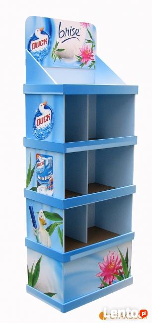 Opakowania kartonowe, pudełka, standy