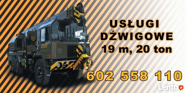 ŻURAW - usługi dźwigowe Wrocław