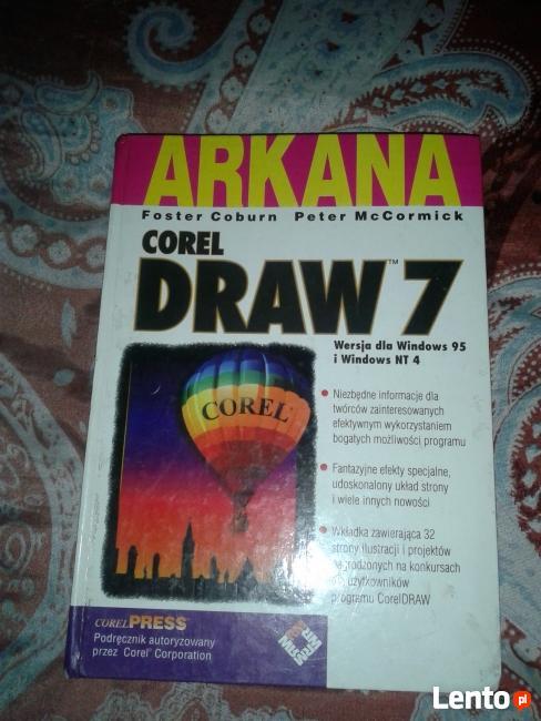Arkana Corel Draw 7 książka