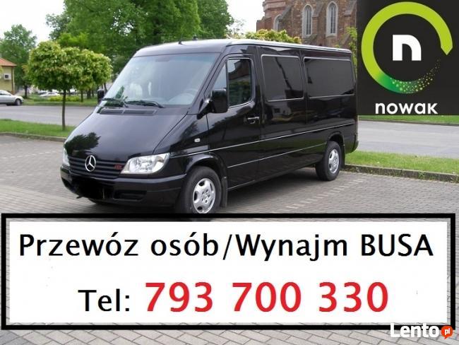 Wynajem Busa Głogów!!!