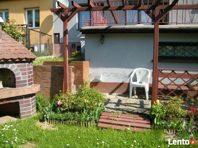 3 pokojowe mieszkanie, działka, ogród+2 garaże
