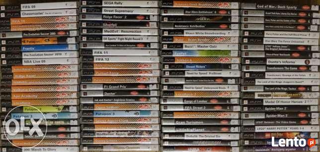 Gry na PSP - Największy wybór - Ponad 100 tytułów -