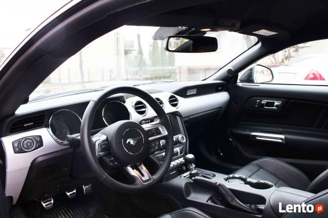 Auto do Ślubu! Czarny Ford Mustang