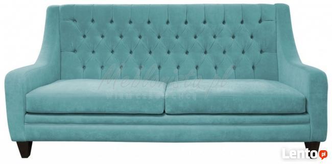 Sofa Chesterfield Mild Rem sprężyny bonelowe gratis promocja