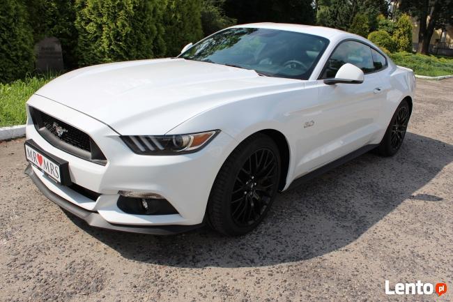 Biały Mustang do Ślubu GT! Najnowszy model