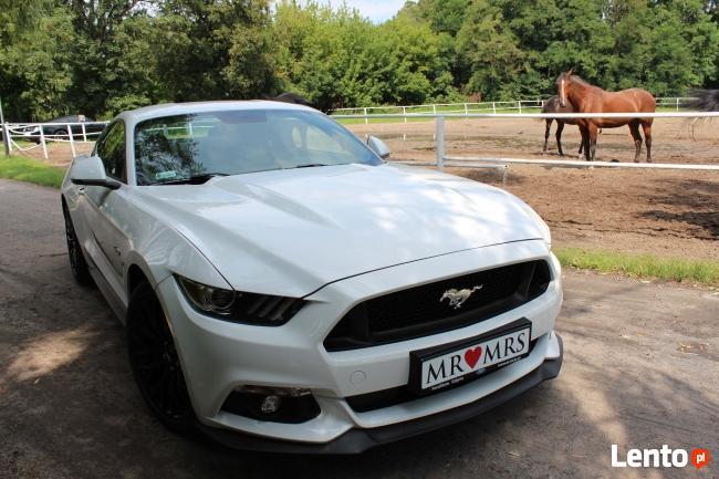 Białym Mustangiem do Ślubu!