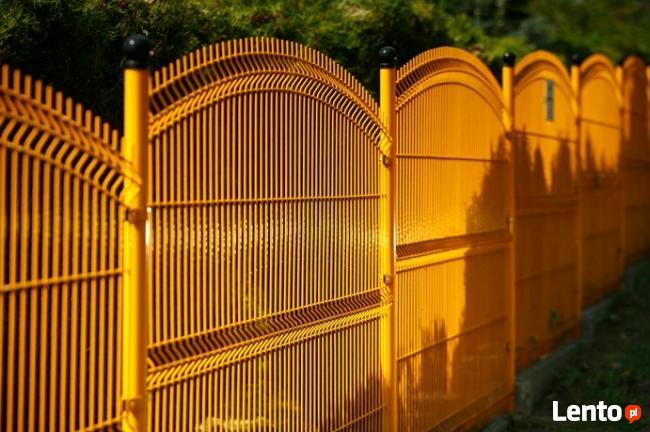 Panel ogrodzeniowy wypukły 150x250cm fi4mm oc+kolor