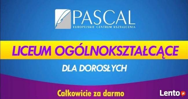 Liceum dla Dorosłych za darmo- zdaj maturę z Pascalem