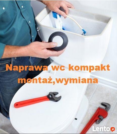 WC-SERWIS SPŁUCZEK KOMPAKTOWYCH - naprawa,wymiana urządzeń.