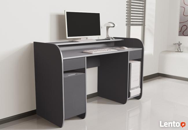 Nowoczesne biurko komputerowe Detalion dla gracza/studenta
