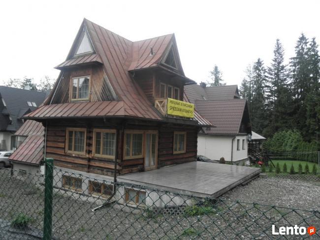 Sprzedam pensjonat w Zakopanem...