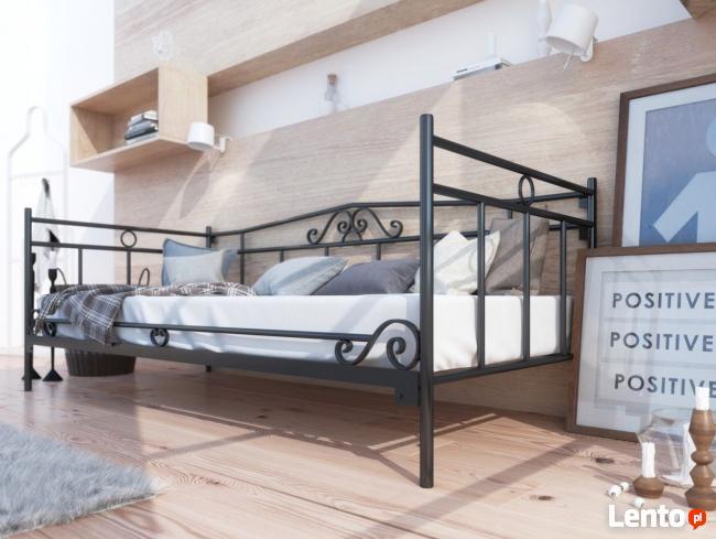 łóżko Metalowe Kute Do Salonu Sypialni Wzór 13 świerzawa