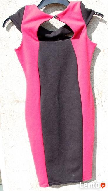 Bandażowa sukienka Jane Norman cudna S XS